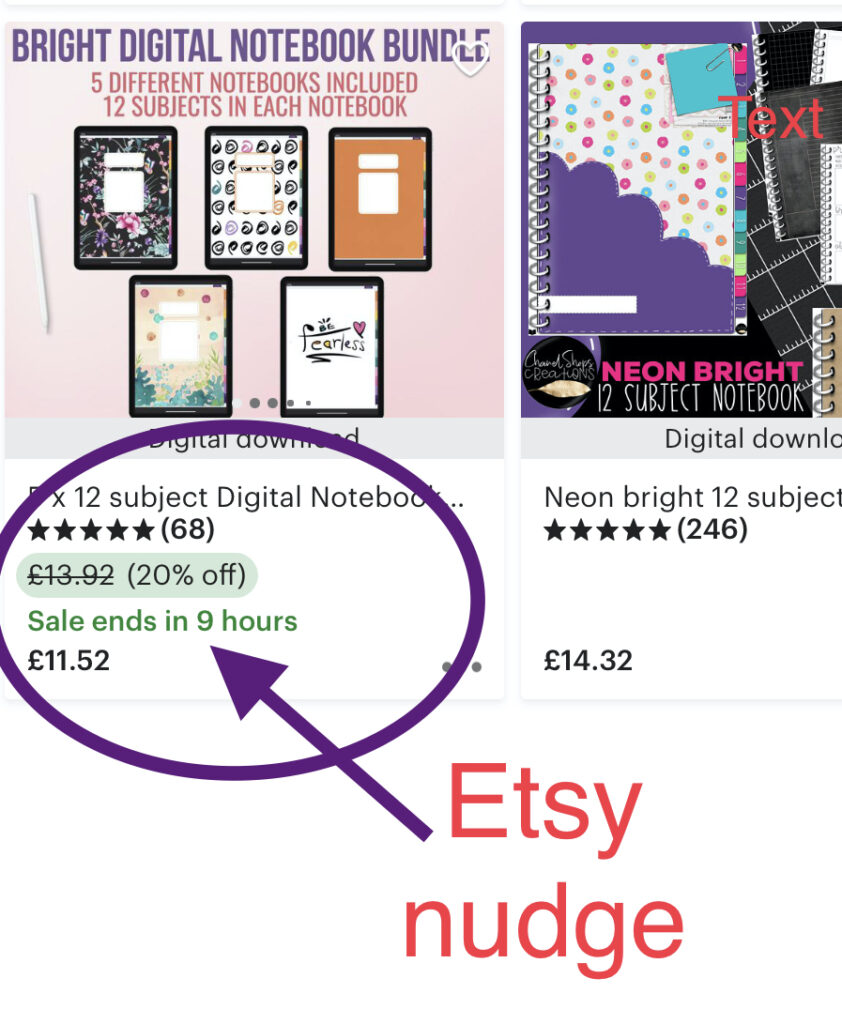Etsy nudge-How To Maximise Your Etsy Sales Without Etsy SEO