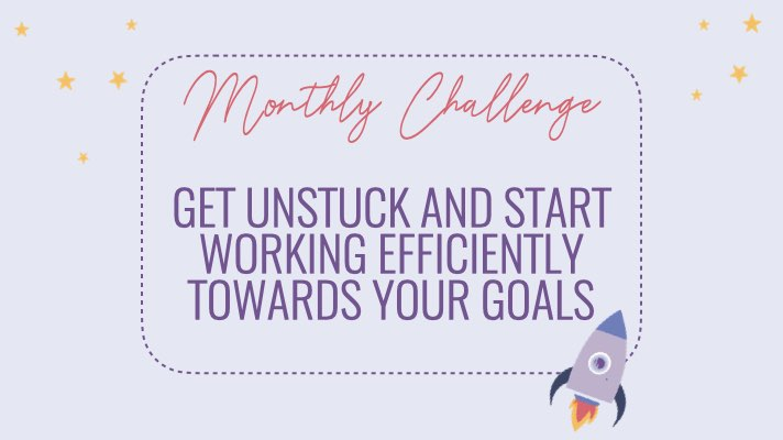 Get your mojo back by starting to work smarter and not harder. It's about working efficiently. Meaning, what you do has to move you towards your goal.