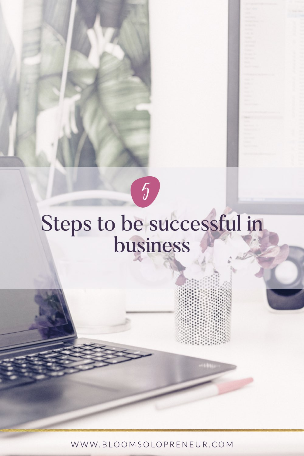 If you're an entrepreneur with a creative small business and it is floundering, follow these 5 steps to learn how to be successful in business. 1. Define what business success means to you and define your business goals, 2. Know your numbers, 3. Create your business strategy for growth, 4. Only work on tasks that will grow your business, 5. Monitor your progress. This tips will help you learn what is important for your enterprise.