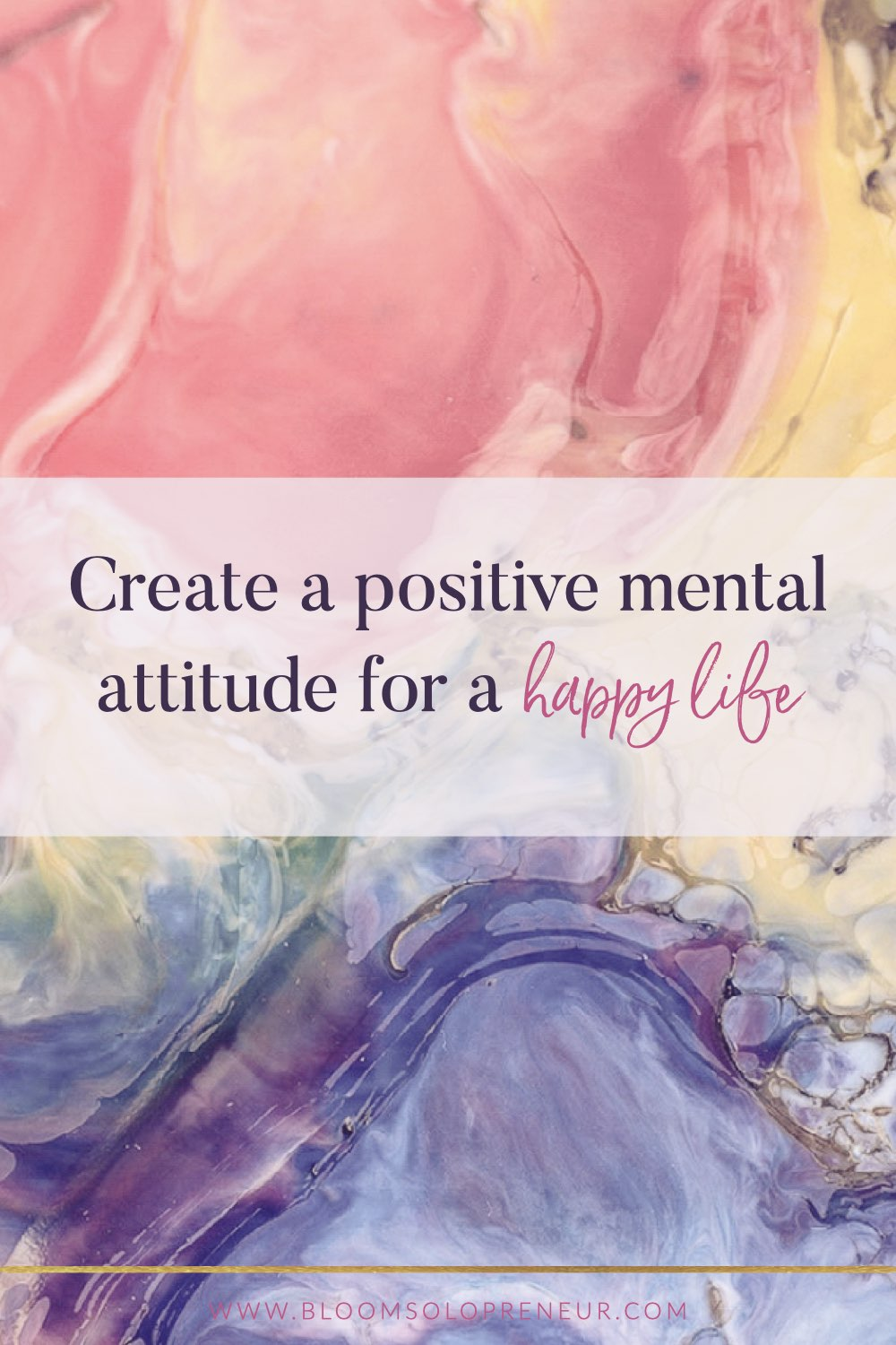 Our outlook on life determines everything. If we have a positive mental attitude it will impact how we respond to our circumstances. Your attitude affects your thoughts emotions and all your actions. This, in turn, will determine the results you experience. No person has a positive mental attitude all the time. There are times when you feel positive and enthusiastic and where everything seems possible. A negative mental attitude could mean that achieving goals will be difficult #bloomsolopreneur