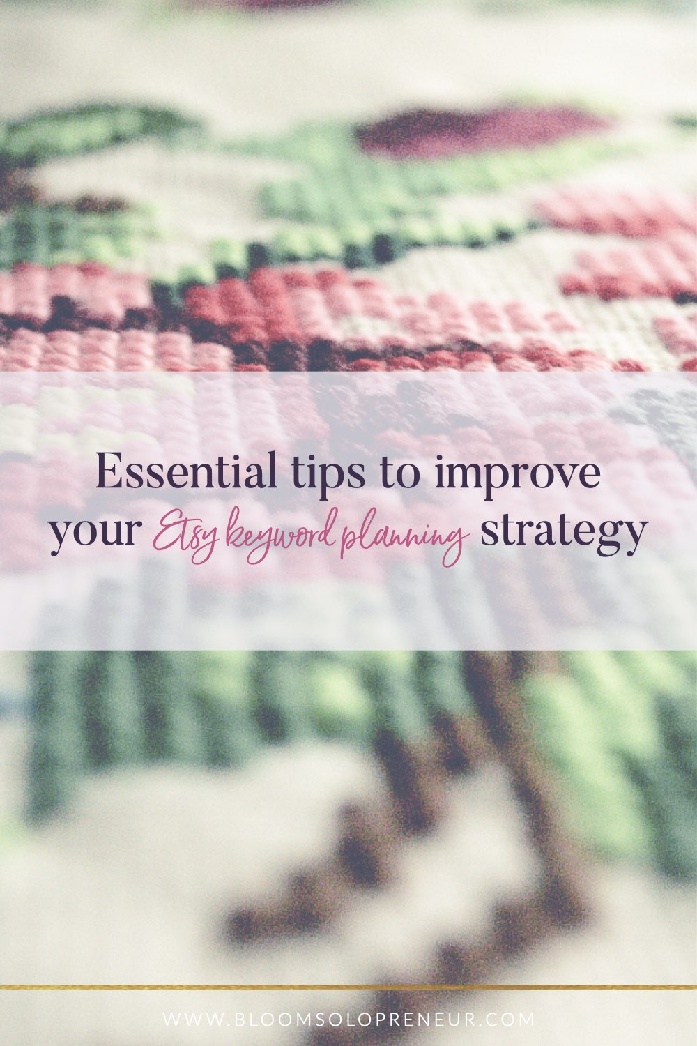 Here are some essential tips to improve your Etsy SEO keyword planning and keyword research strategy to help improve your keyword planning Etsy SEO strategy and keyword research. Using keyword planner tools that I have discovered. If you are unsure of what SEO and keywords mean. Researching the keywords you use is essential if you want to take advantage of all the people already using Etsy searching for products. #bloomsolopreneur