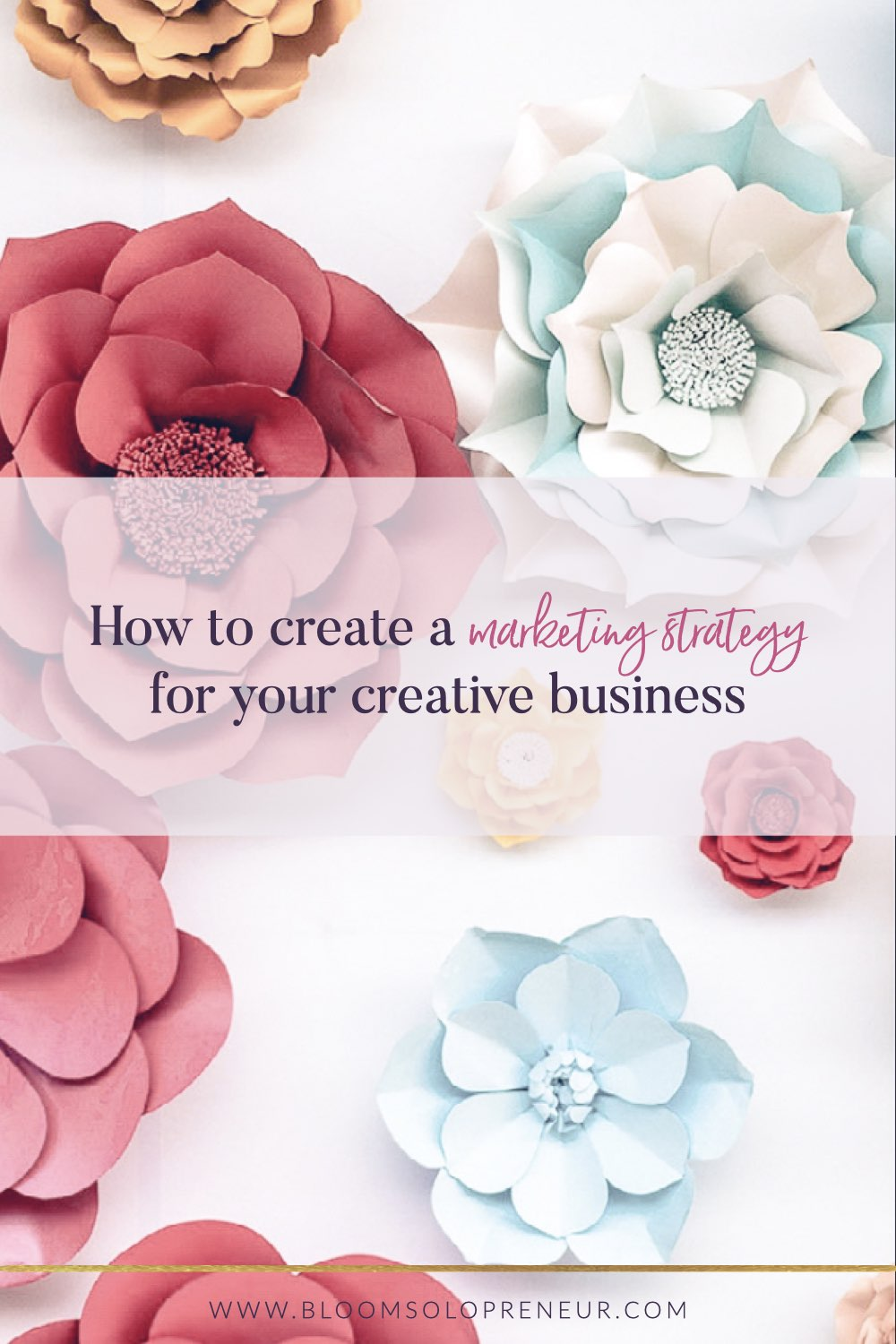 Creating a marketing strategy is often scary and deemed too complex for a small business, here we show you how to create one for your Etsy shop. A marketing strategy means coming up with ideas for your business to promote to your target audience. Let me help you walk through the steps to build your marketing strategy. #marketing #marketingtips #marketingonline #marketingideas #startabusiness #startablog #handmadebusiness #craftbusiness #creativebusiness #bloomsolopreneur